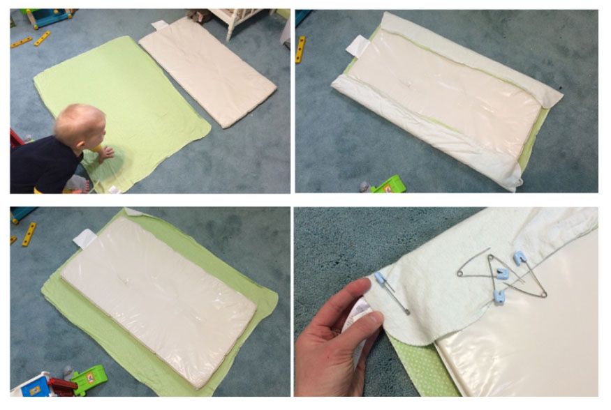 diy,changing pad