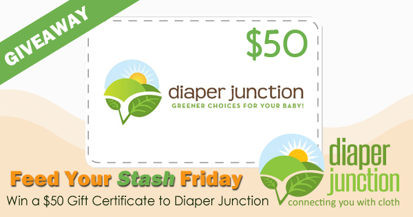 11/17/17 FYSF, Win a $50 Gift Certificate to DiaperJunction.com