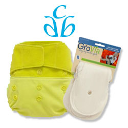 cloth diapers,grovia,citrus,new