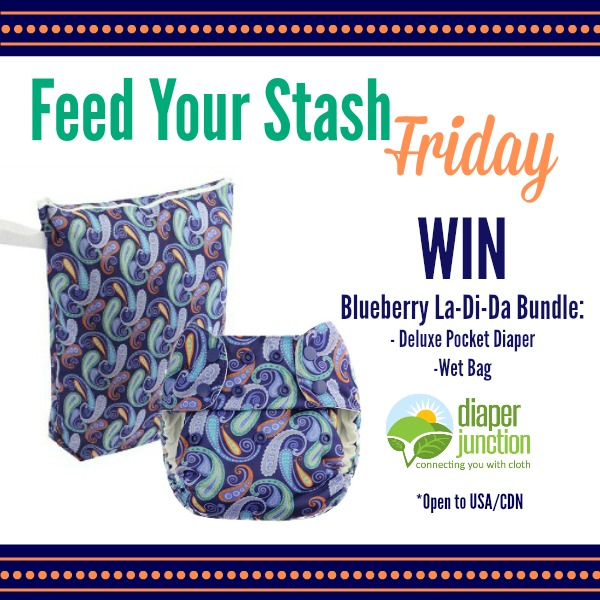WIN a Blueberry La-Di-Da Bundle in our Feed Your Stash Friday Giveaway