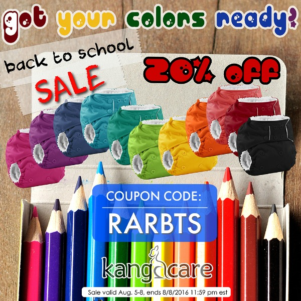 Save 20% with Rumparooz Back To School Sale