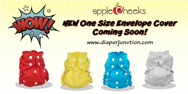 COMING SOON: AppleCheeks One Size Envelope Cover
