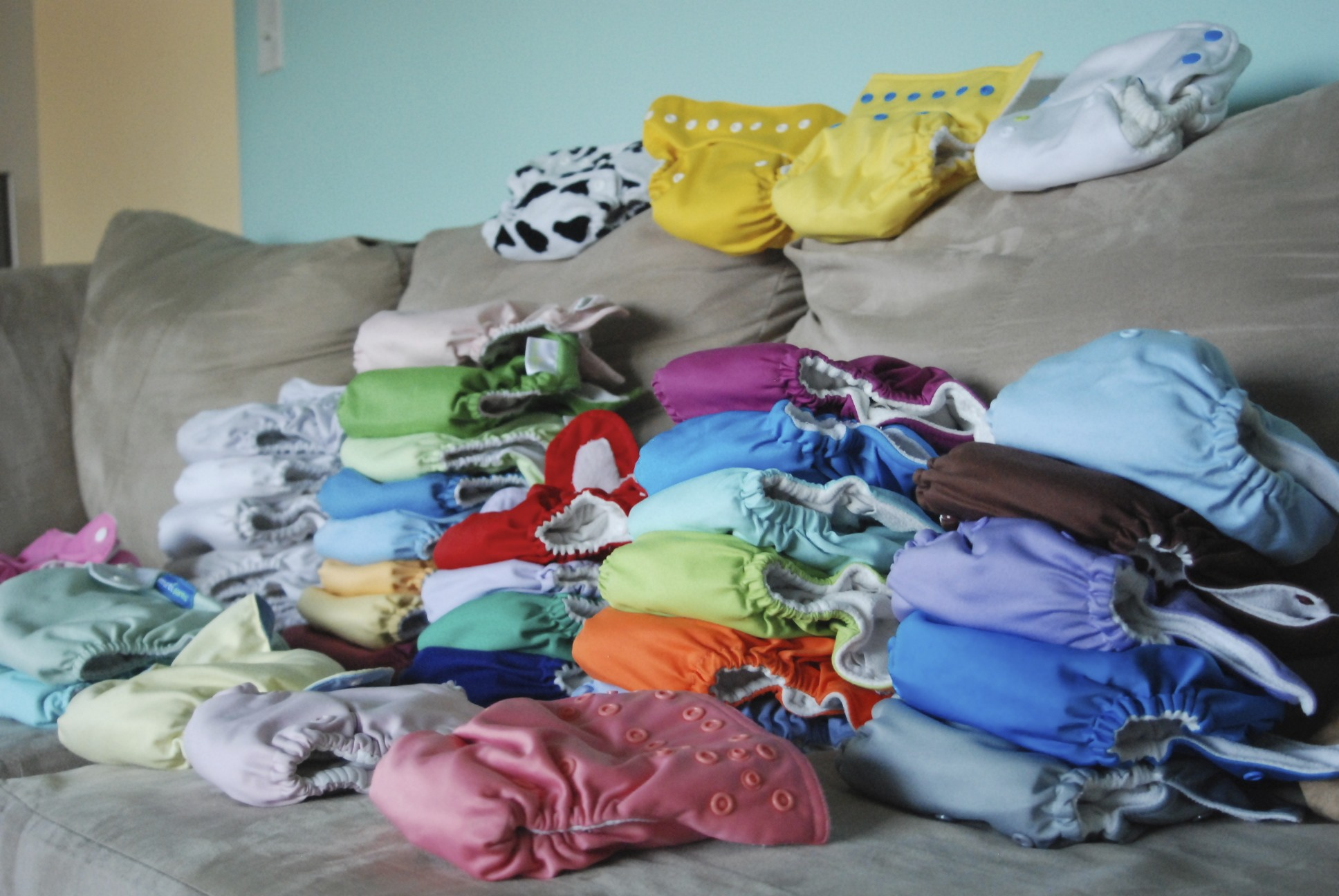 cloth diaper stash,cloth diapers