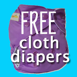 free cloth diapers,free diapers