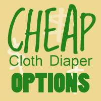 cheapie,cloth diapers,cheap