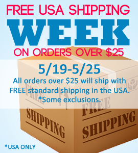 Free USA Shipping over $25