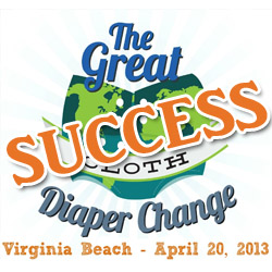 great cloth diaper change,gcdc2013,real diaper association,virginia beach
