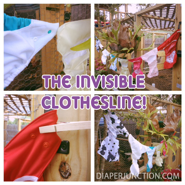 cloth diaper tip,clothesline