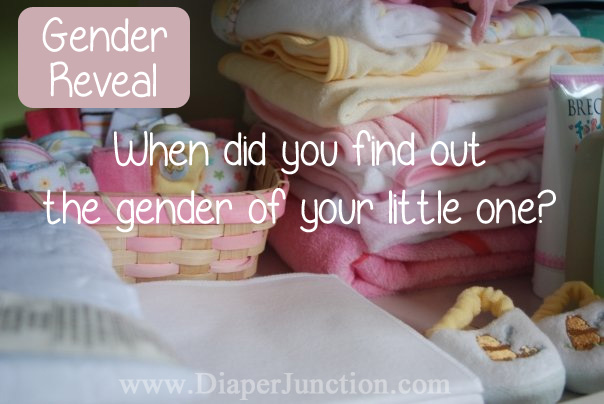pregnancy when to find out the gender of your baby