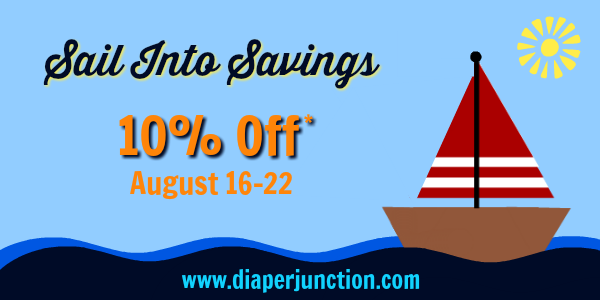 Sail Into Savings with Diaper Junction!