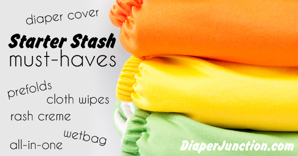 starter stash,cloth diapers