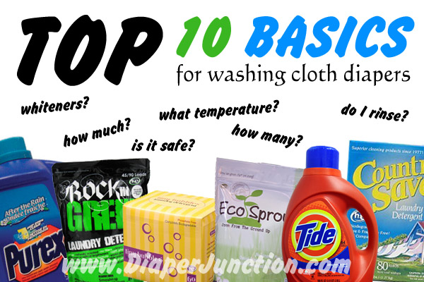 cloth diaper washing tips