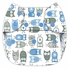 Blueberry Birdseye Simplex One Size All In One Diaper