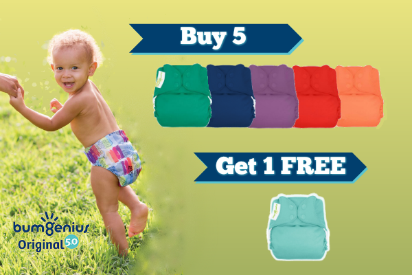 Save on bumGenius Original Diapers!