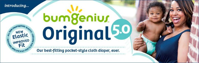 bumGenius Original 5.0 Pocket Diaper New and Improved