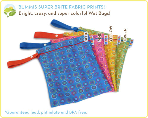 Bummis Fabulous Wet Bag Prints
