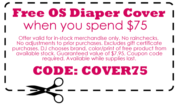 cloth diaper coupon
