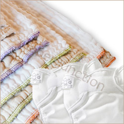 cloth diaper package,prefolds