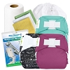 bumGenius 4.0 One Size Pocket Diaper Deluxe Package