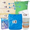 Prefold Diaper Deluxe Package