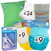 GroVia Deluxe Diaper Package
