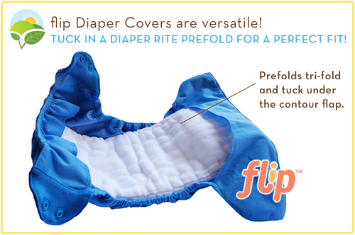 Flip Diaper Covers are Versatile
