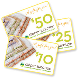 Gift Certificates - Cloth Diaper Gift Certificate|Diaper Junction