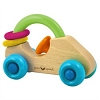 Green Sprouts Wooden Car Rattle
