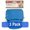 GroVia All In One Diaper - 3 Pack