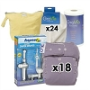 GroVia O.N.E. Cloth Diaper Deluxe Package