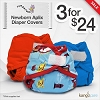 Rumparooz Newborn Aplix Diaper Cover Sale - 3 For $24!
