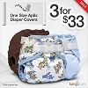 Rumparooz One Size Aplix Diaper Cover Sale - 3 For $33!