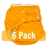 Rumparooz One Size Pocket Diaper - 6 Pack