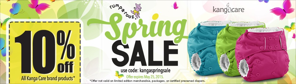 Rumparooz Spring Sale