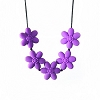 Siliconies Flower Teething Necklace