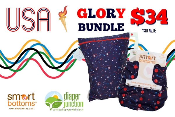 Celebrate Team USA with Smart Bottoms Glory!