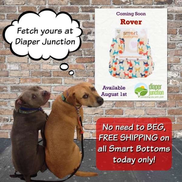 Celebrate Smart Bottoms Rover with FREE SHIPPING!