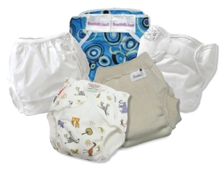 How do I use cloth diapers at night?