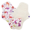 Pink Daisy Menstrual Pads ORGANIC COTTON - 3 Pack CLEARANCE