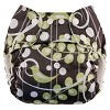 Blueberry One Size Bamboo Pocket Diaper Certified Preowned