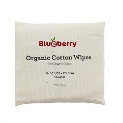 Blueberry Organic Cotton Wipes