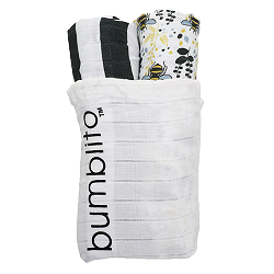 Bumblito Organic Swaddle 2 Pack