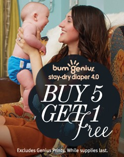 bumGenius! 4.0 Diapers Buy 5 Get 1 Free!
