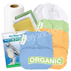 bumGenius! Elemental One Size Cloth Diaper Deluxe Package