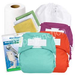 bumGenius Freetime One Size All In One Diaper Deluxe Package