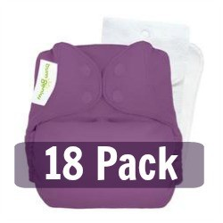 bumGenius 5.0 One Size Pocket Diaper 18 Pack