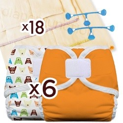 Prefold Diaper Package