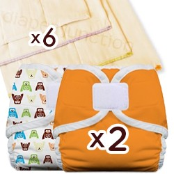 Prefold Diaper Trial Package