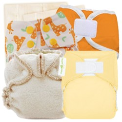 Newborn Cloth Diapering Sample Package