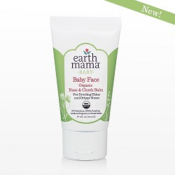 Earth Mama Organics Baby Face Organic Face & Cheek Balm